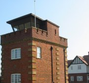 Coastguard lookout tower