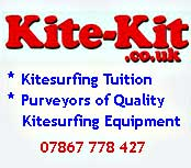 Kitesurfing kit
