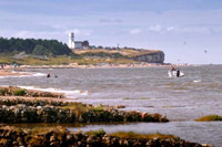 Hunstanton Cliffs, Beach and Lighthous