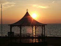 Hunstanton-Bandstand-at-Sunset
