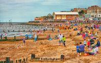 Summertime-at-Hunstanton-Beach
